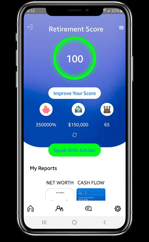 Pocket Plan App on Iphone X